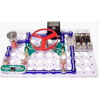Buy electronic circuits - Elenco Electronics Snap Circuits Snaptricity Board Game