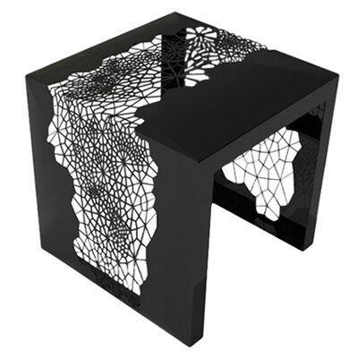 Hive End Table Finish: Jet Black