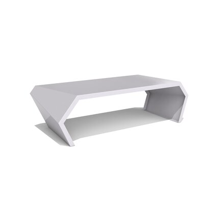 Pac Coffee Table Exterior/Interior Color: Aviator Grey