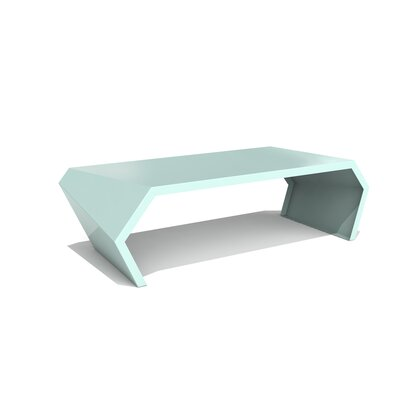 Pac Coffee Table Exterior/Interior Color: Sea Green