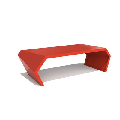 Pac Coffee Table Exterior/Interior Color: Spirit Red
