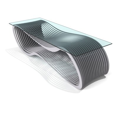Loop Coffee Table Finish: Aviator Grey