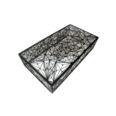 Nebula Coffee Table Size: 55, Color: Black
