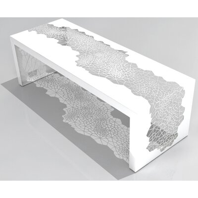 """Hive Steel Bench Size: 60"""", Color: Berry"""