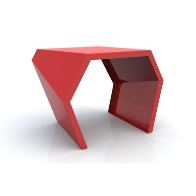 Pac End Table Finish: Spirit Red