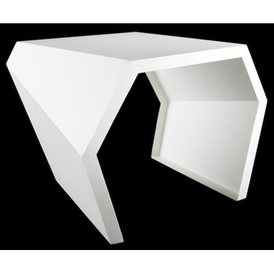 Pac End Table Finish: Brilliant White