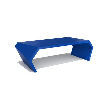 Pac Coffee Table Exterior/Interior Finish: Baltic Blue