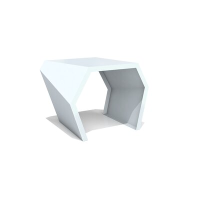 Pac End Table Color: Glacier Gray