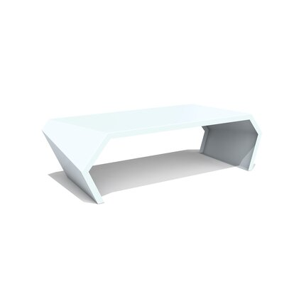 Pac Coffee Table Exterior/Interior Finish: Galcier Gray