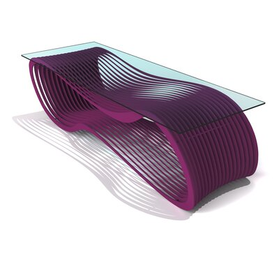 Loop Coffee Table Color: Wild Orchid