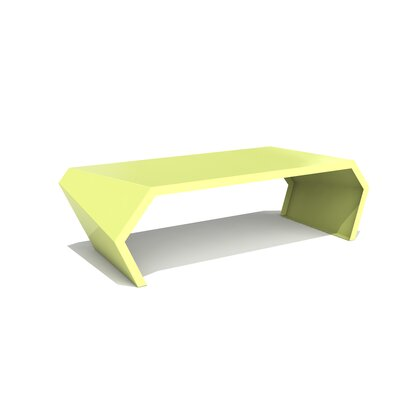 Pac Coffee Table Exterior/Interior Color: Lush Green