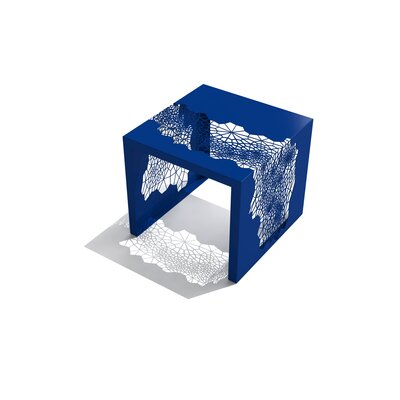 Hive End Table Color: Baltic Blue