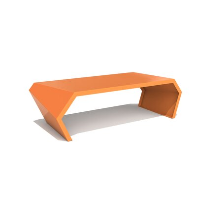 Pac Coffee Table Exterior/Interior Color: Salmon Sky