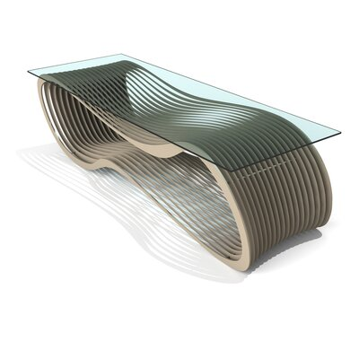 Loop Coffee Table Finish: Chilled Champagne