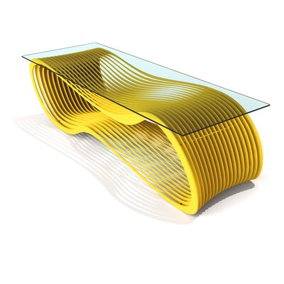Loop Coffee Table Color: Bright Sun