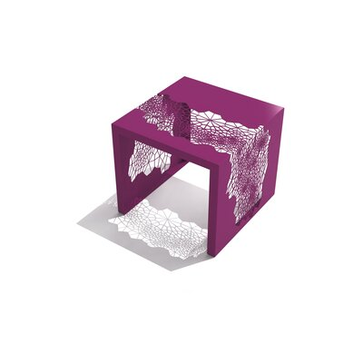 Hive End Table Color: Wild Orchid