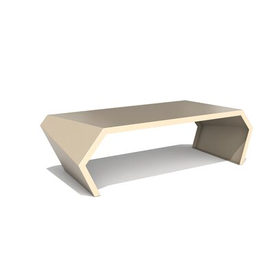 Pac Coffee Table Exterior/Interior Finish: Chilled Champagne
