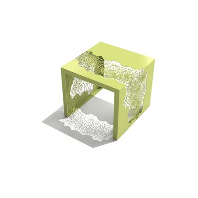 Hive End Table Color: Lush Green