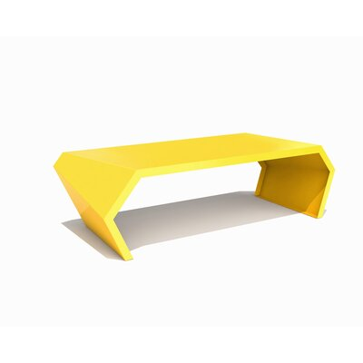 Pac Coffee Table Exterior/Interior Color: Bright Sun
