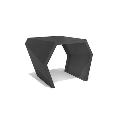 Pac End Table Finish: Jet Black