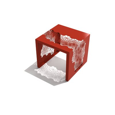 Hive End Table Color: Spirit Red