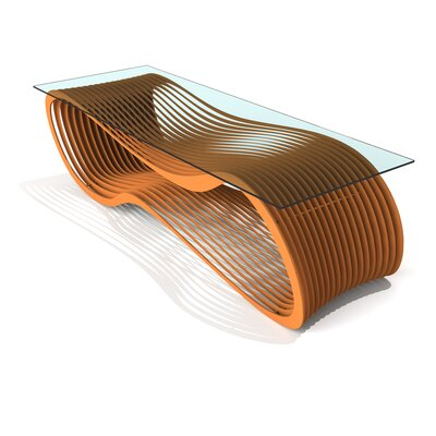 Loop Coffee Table Finish: Salmon Sky