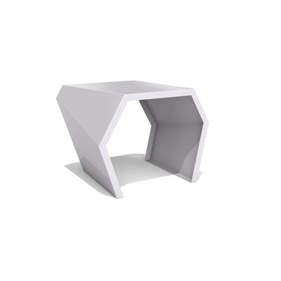 Pac End Table Color: Aviator Grey