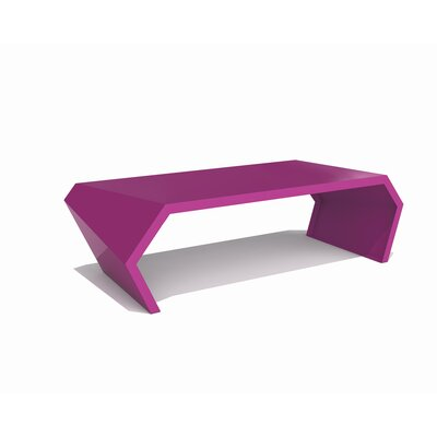 Pac Coffee Table Exterior/Interior Color: Wild Orchid