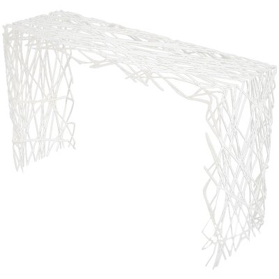 Strand Console Table Finish: Brilliant White