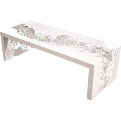 Hive Coffee Table Finish: Cream White
