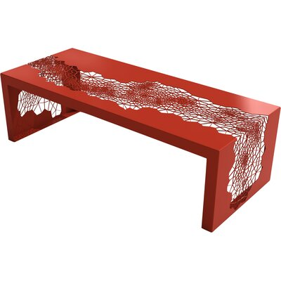Hive Coffee Table Color: Spirit Red