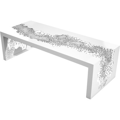 Hive Coffee Table Color: Brilliant White