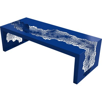 Hive Coffee Table Color: Baltic Blue