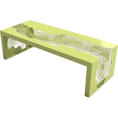 Hive Coffee Table Color: Lush Green