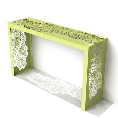 Hive Console Table Finish: Lush Green