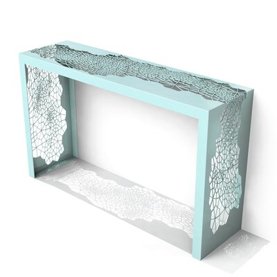 Hive Console Table Finish: Sea Green