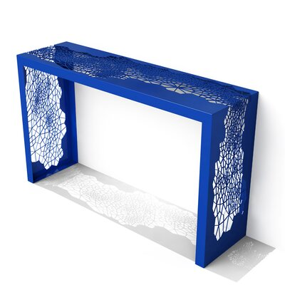 Hive Console Table Finish: Baltic Blue