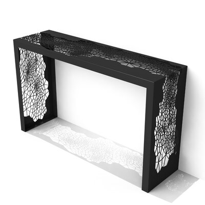 Hive Console Table Finish: Jet Black