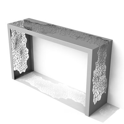 Hive Console Table Finish: Silver Sand