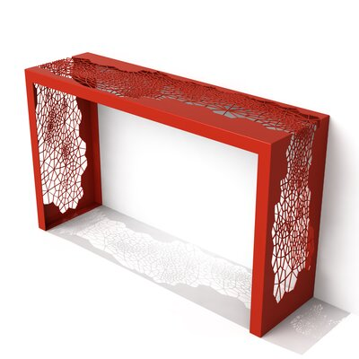 Hive Console Table Finish: Spirit Red