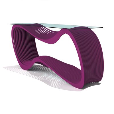 Loop Console Table Finish: Wild Orchid