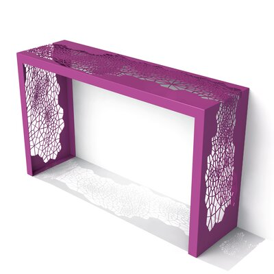 Hive Console Table Finish: Wild Orchid
