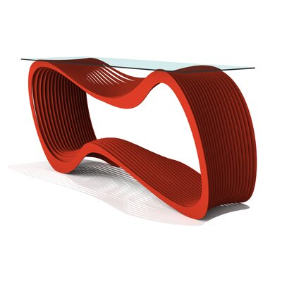 Loop Console Table Finish: Spirit Red