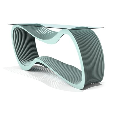 Loop Console Table Finish: Sea Green