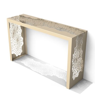 Hive Console Table Finish: Chilled Champagne