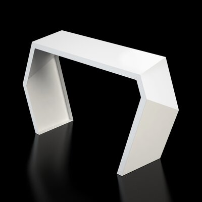 Pac Console Table Finish: Brilliant White