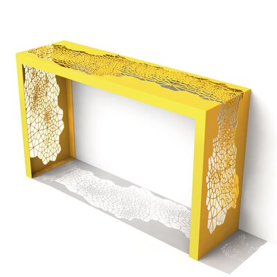 Hive Console Table Finish: Bright Sun