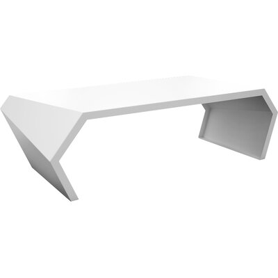 Pac Coffee Table Exterior/Interior Finish: Brilliant White