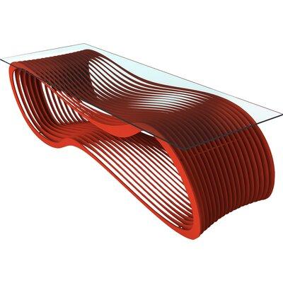 Loop Coffee Table Color: Spirit Red