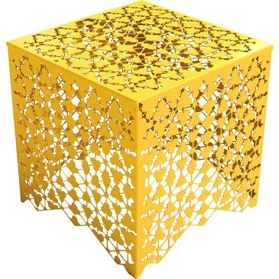 Ricami End Table Color: Bright Sun